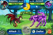 Wyrm VS Zomwolf