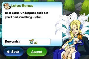 Lotus Bonus Info
