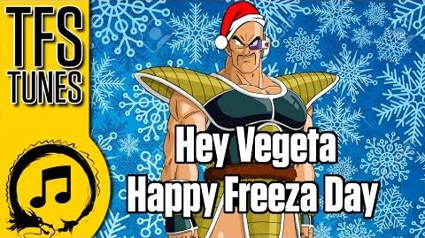 Dragonball Z Abridged MUSIC Hey Vegeta Happy Freeza Day (*Nsync Parody)