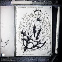 Sketchbook will o the wisp by candra de0he93