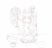 Monster-anubis-daughter-dinner-1024x939