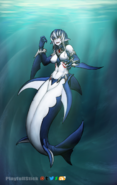 Mershark swimu swim swim by playfullstick-db2ap6y