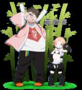 Monster girl oc miuna and rorita kun by dannex009-d9wecz3