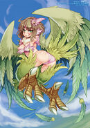 Paradise harpy