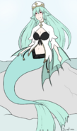 Sea bishop mermaid no shading by its not meh dcprb48