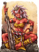 Aka oni by maxa art-d8jkrnw