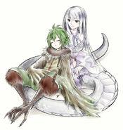 Harpy and Shirohebi