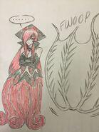 Vampire Squid Kraken sketch