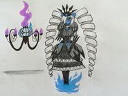Cynthia meets a Chandelure