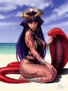 Monster girl encyclopedia pharaoh by sciamano240-daby0gj