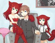 Happy family by l4no shiro-d9vc8tr