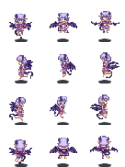 Imp monster girl sprite by tsarcube-d3hldkr
