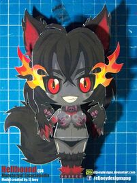 Hellhound completed model by eljoeydesigns-d8md909