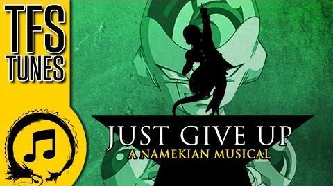 Dragonball Z Abridged MUSIC Freeza - Just Give Up! (A Hamilton Song Parody)