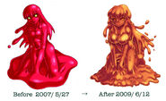 Red Slime Change