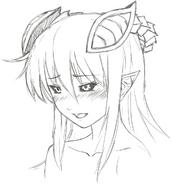 Mari Sketch B&W