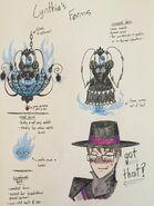 Cynthia's Forms concept art