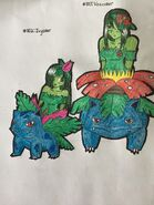 Ivysaur and Venusaur Alraunes