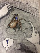 Orb Weaver Arachne Girl - an unexpected encounter