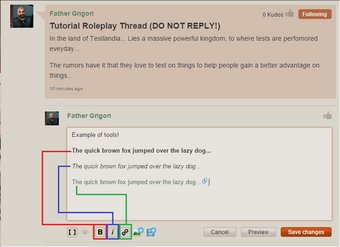 Thread RP tools