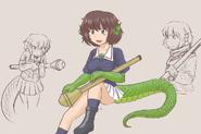 Monster-lizardman-Yukari-1024x683