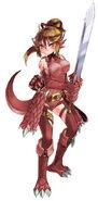 Lizardman red