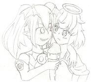 Angel and Devil Ice Cream