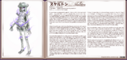 Skeleton book profile
