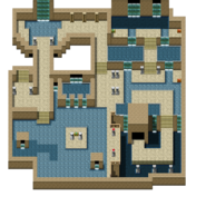 148 - North Undersea Temple B1F