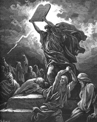 Moses by dore