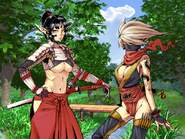 Kunoichi and Samurai