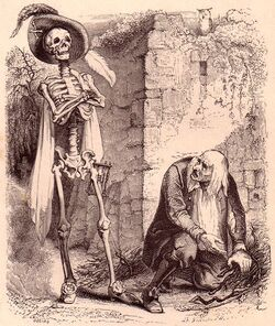 Monster history - Death and the Woodcutter