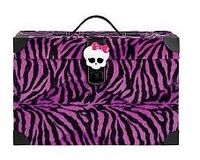 Fangtastic Storage Trunk - Purple & Black