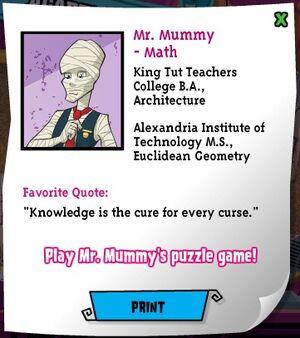 Website - Mummy