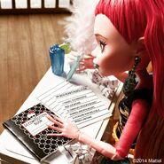 Diorama - Gigi's writing