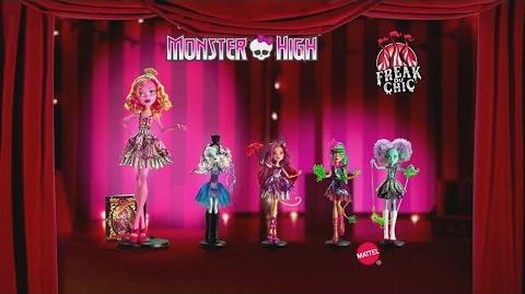 Monster High™ Freak Du Chic Doll Commercial