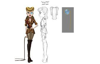 Concept art - Lilith sheet