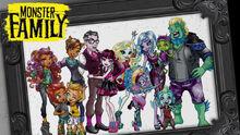 Monster Family Artwork