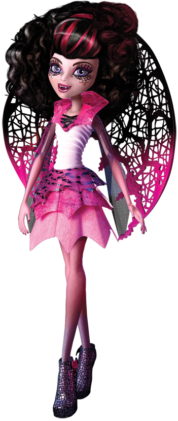 Music Box Dress Dawn Doll Dark Pink with White Lace  Different Version