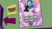 Why We Fright - fearleading poster