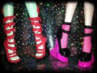 Diorama - four Sweet Screams shoes
