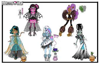 Concept art - Ghouls Rule moodboard