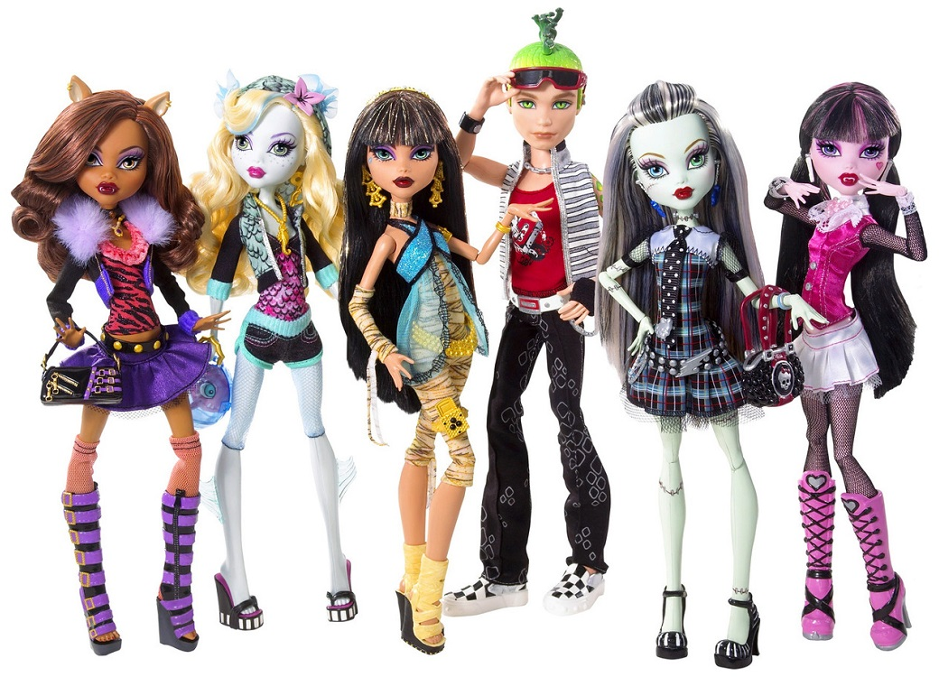 Monster High Doll Hair Brush X 15 Dolls