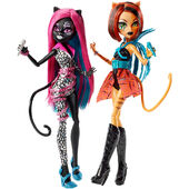 Doll stockphotography - Fierce Rockers Catty and Toralei I