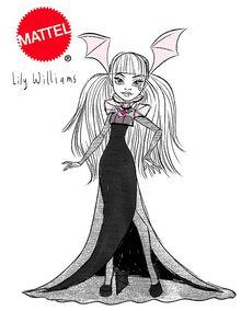 Concept art - Deluxe Gaga Draculaura