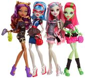 Doll stockphotography - Ghoul's Night Out 4-pack