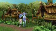 Escape From Skull Shores - Tiki village