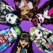 Diorama - six original ghouls