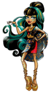 Cleo de Nile - Welcome To Monster High - Dance the Fright Away