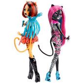 Doll stockphotography - Fierce Rockers Catty and Toralei II